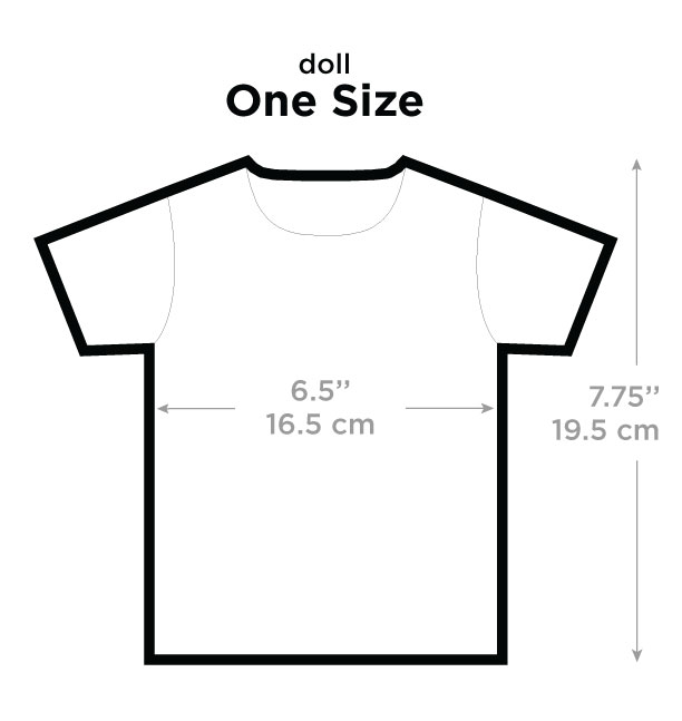 T Shirt Size Chart: Picture This Clothing
